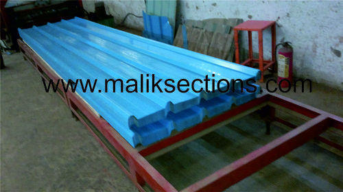 Galvanized Colour Coated Roofing Sheet - GI Color Coated Corrugated