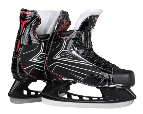 Red Black ICE HOCKEY SKATES, Size/Dimension: European 36 To 44, Rs
