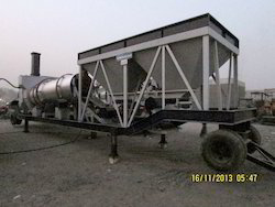 Mobile hot mix plant compact type