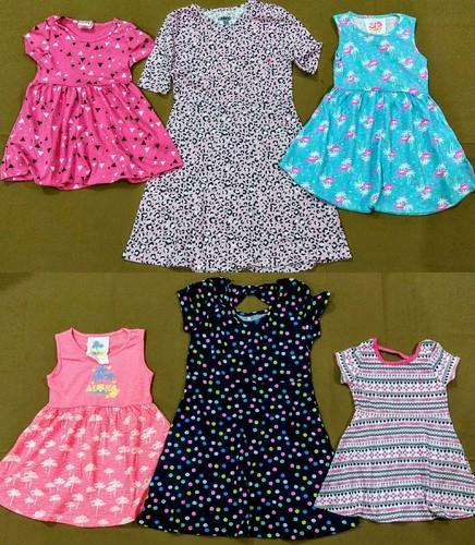 Girls Frocks, Export Surplus Stocklot Garments