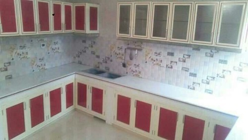 Modern Aluminium Kitchen Cabinet Rs 1000 Foot The Cool Sales