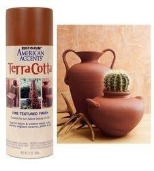 American Accents Fine Textured Terra Cotta Spray Paint