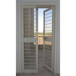 French Galvanized Door