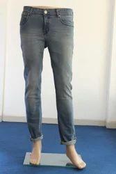 Men's Lycra Plain Jeans, Size: 28-38