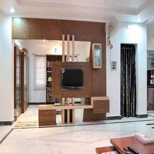 Designer Tv Unit Tv Unit VKR Sreesai Interior Decorators OPC