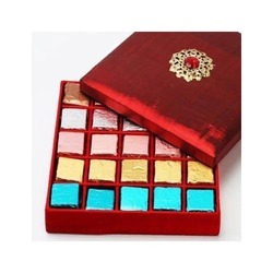Red Colored Jewelry Gift Box