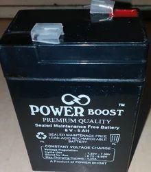 Power Boost 6 V Battery, Capacity: 5 Ah