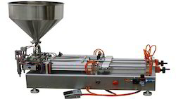 Double Head Paste Filling Machine (Pneumatic)