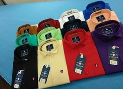 Formal Wear And Party Wear Men Plain Shirt