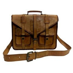 Genuine Leather Mac Book Shoulder Bag MESS145