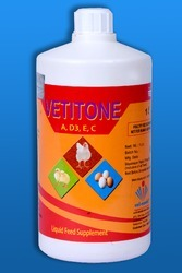 Vetitone A, D3, E, C Along Poultry Feed Supplements