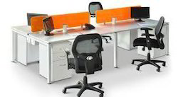 Office Modular Desk Back System