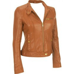 Ladies Leather Jacket | High Creation Garments | Manufacturer in ...
