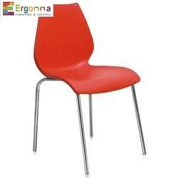 Orange Cafeteria Chair