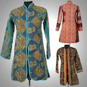 Vintage Quilted Jacket With Hand Stitched Kanth Work