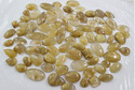 Golden Rutilated Quartz Mix Shape Size Cabochon Lot