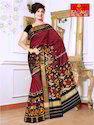 Kadamb Patola Art Casual Fancy Patola Saree, With Blouse Piece
