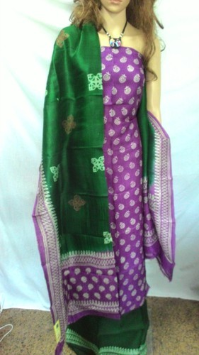 1524caf2a7 Exclusive Pure Silk Hand Block Printed Dress Material at Rs 2280 ...