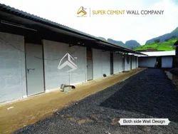 RCC Ready Made Concrete Wall Precast