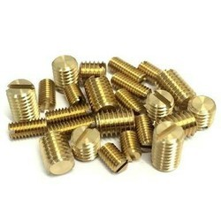 Brass Slotted Grab Screw