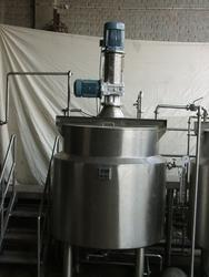 Blending and Mixing Vessel