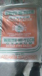 White Hi Tech Gypsum Plaster