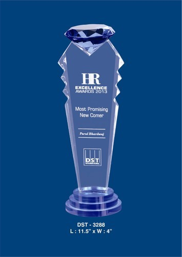 Award Of Excellence Acrylic Trophy