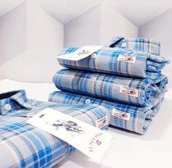 U.S. Polo Assn Blue check Shirts &, Size: XL