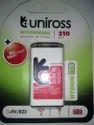 Uniross 9 Volt Rechargeable Battery