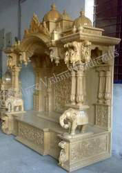Wooden Decorative Carved Temple