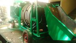Movable Mini Hot Asphalt Drum Mixer