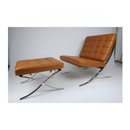Barcelona Chair With Foot Rest