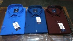 Plain Formal Wear Cotton Shirts
