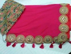 Designer New Net Saree