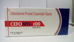 Cefpodoxime Proxetil 100 Mg Dispersible Tablets