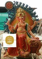 Fiber Ganesh Statue 8'