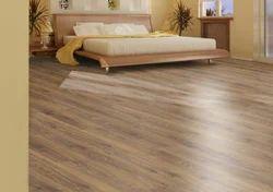 PVC Teak Wood Wooden Flooring, Finish Type: Matte, Thickness: 2 Mm