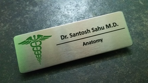 doctor magnetic name badge - Magnetic Name Badges