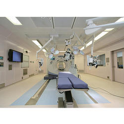 Wall Flooring & Surgeon Control Panel, For Hospital
