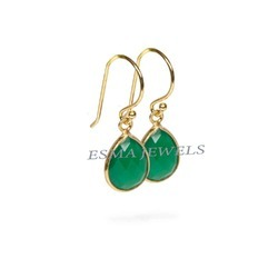 Green Ones Fashion Earring
