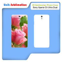 3D Sublimation Mobile Cover for Sony Xperia C5 Ultra