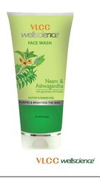 Herbal VLCC Face Wash, Age Group: Adults, Packaging Size: 100gm
