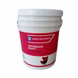 Hamilton Acrylic Emulsion Wall Paint, Packaging: 20 L