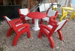 Cement Product RCC Concrete Outdoor Table Bench