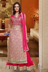 Pink Heavy Wedding Designer Suit