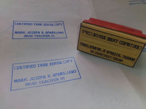 Rubber Stamps Stamps Manufacturer From Bengaluru