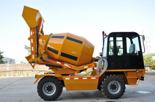 Self Loading Concrete Mixer View Specifications