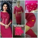 Cotton Embroided Kurti