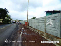 RCC Ready Made Concrete Precast Wall