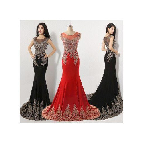 Evening Party Wear Gown at Rs 2500 /piece | Malad West | Mumbai | ID ...